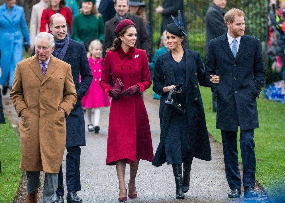 Kate Middleton ve Prens William'ın yerine Prenses Eugenie ile Jack Brooksbank