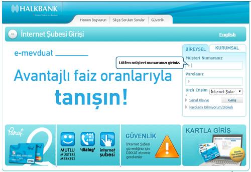 Halkbank'ın 'internet bankacılığı' sırları haberi - FinansGündem.com